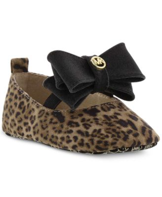 michael kors crib shoes