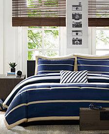 Mi Zone Ashton King/California King 4 Piece Comforter Set