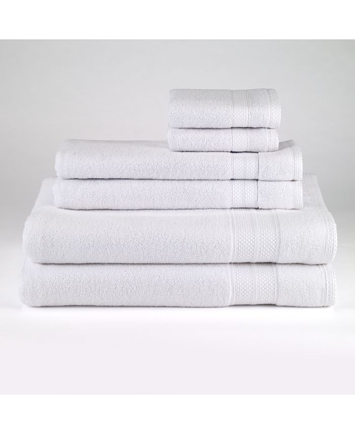 Avanti - Turkish Spa Cotton 6-Pc. Solid Towel Set