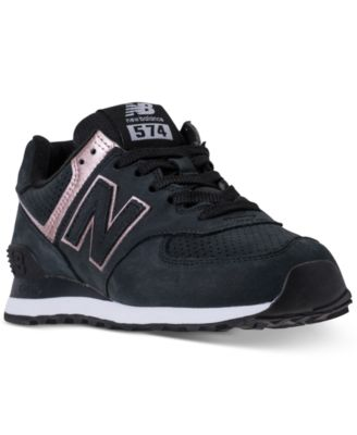 574 Rose Gold Casual Sneakers