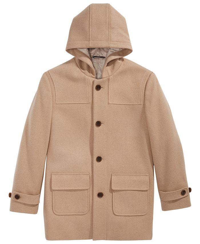 Lauren Ralph Lauren - Big Boys Plain Camel Coat