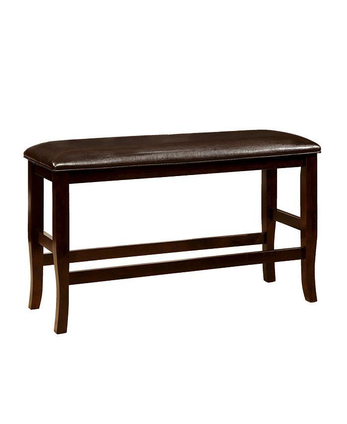 Furniture of America - Kitner Dining Bench, Quick Ship