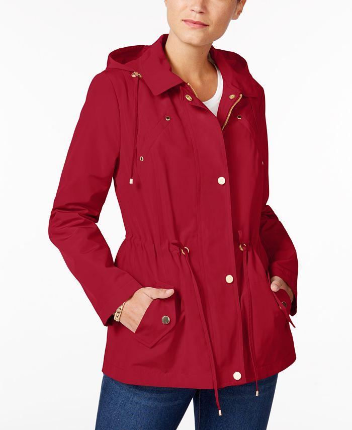 Charter Club - Detachable-Hood Anorak Jacket