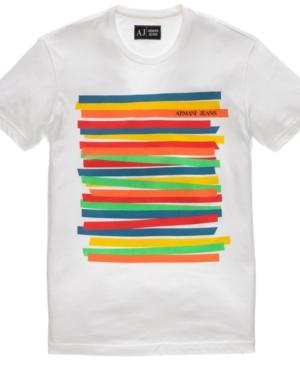 Armani Jeans Shirt, Pima Cotton Jersey T Shirt
