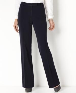 Charter Club Pants, Straight Leg Slimming Trousers