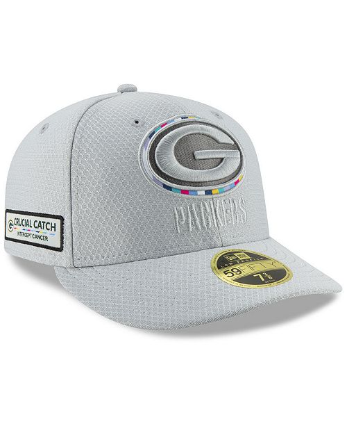 New Era Green Bay Packers Crucial Catch Low Profile 59fifty Fitted Cap Reviews Sports Fan Shop By Lids Men Macy S
