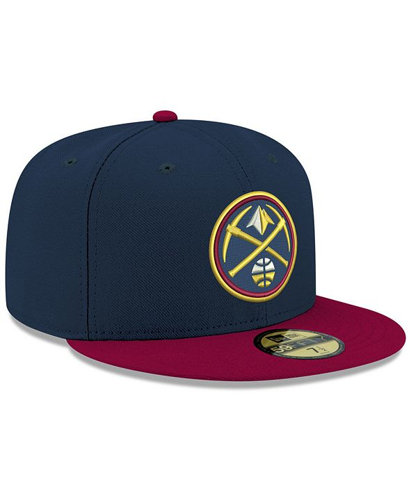 New Era Denver Nuggets Basic 2 Tone 59FIFTY Fitted Cap