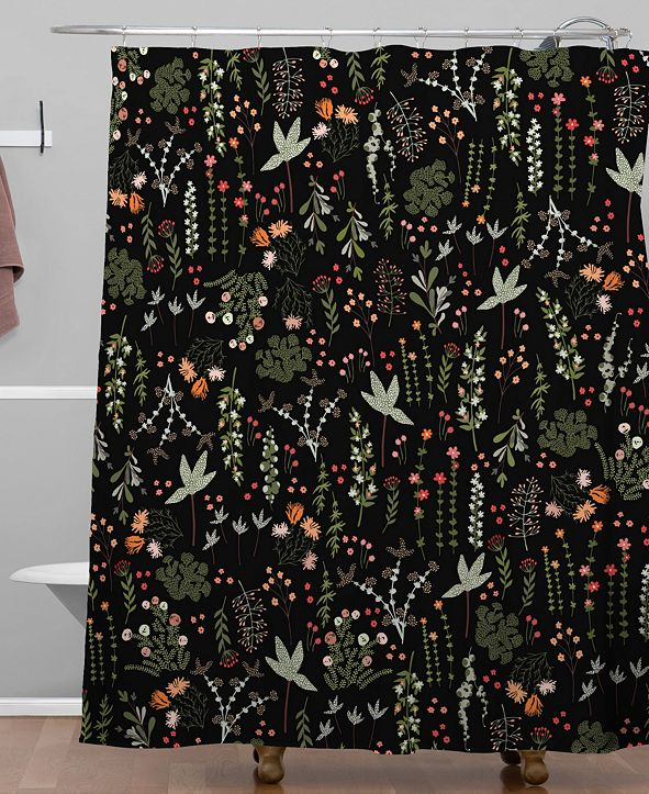 Deny Designs Iveta Abolina Floral Goodness II Shower Curtain
