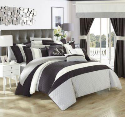 Covington 24-Pc Queen Comforter Set