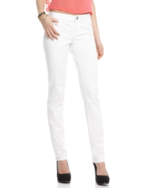 American Rag Jeans, White Wash Skinny Leg