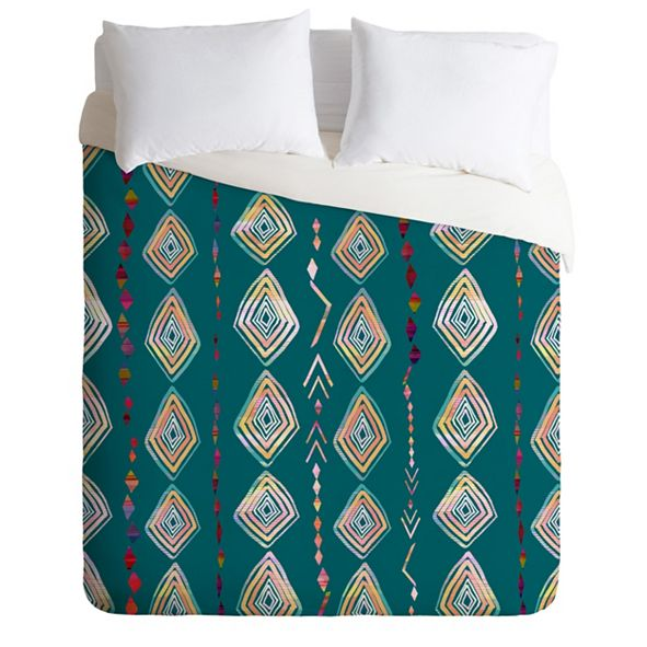 Deny Designs Iveta Abolina Morocco On My Mind Twin Duvet Set