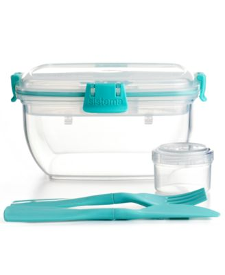 Martha Stewart Collection Food Storage Container, Salad To Go