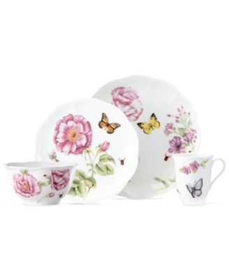 Lenox Dinnerware, Butterfly Meadow Bloom 4 Piece Place Setting