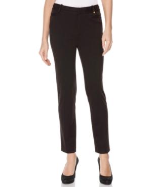 Calvin Klein Pants, Ponte Straight Leg Trousers