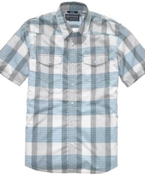 American Rag Shirt, Geek Plaid