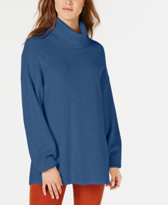 Free People Softly Structured Ribbed Turtleneck