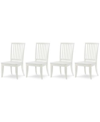 Rachael Ray Everyday Dining, 4-Pc. Set (4 Slat Back Side Chairs)