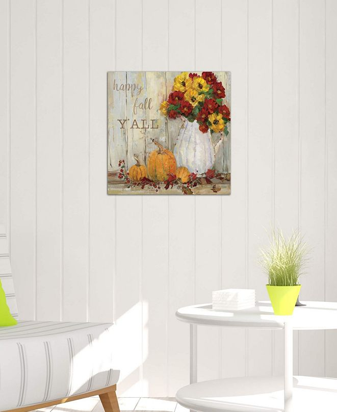 "iCanvas ""Pumpkin Patch II"" by Sally Swatland Gallery-Wrapped Canvas Print (26 x 26 x 0.75)"