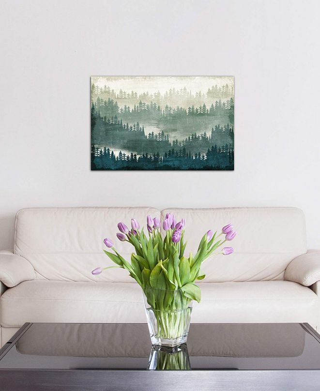 """iCanvas """"Mountainscape I"""" by Michael Mullan Gallery-Wrapped Canvas Print (26 x 40 x 0.75)"""