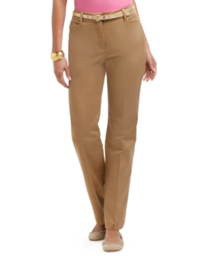 Charter Club Pants, Slim It Up Straight Leg