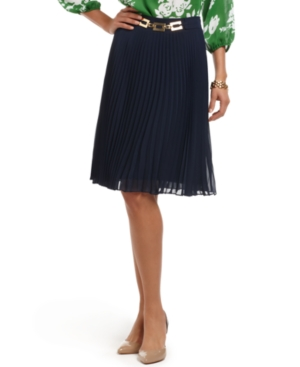 Charter Club Skirt, A-Line Accordion Pleated