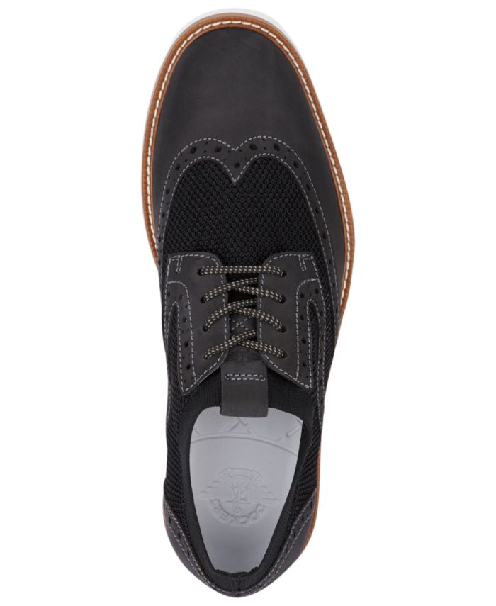 Dockers Men's Hawking Knit Smart Series Wingtip Oxfords & Reviews - All Men's Shoes - Men - Macy's