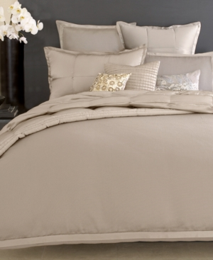 Donna Karan Bedding, Modern Classics Platinum Ash Queen Bedskirt Bedding