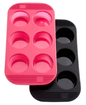 Mastrad Muffin Pan, 6 Cup