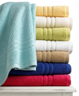 "Martha Stewart Collection Quick Dry 13"" Square Washcloth"