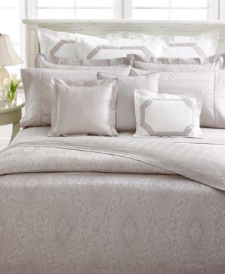 "CLOSEOUT! Lauren Ralph Lauren Bedding, Suite Mink 16"" Square Throw Pillow"
