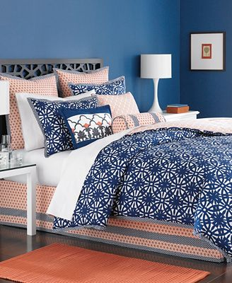 Martha Stewart Collection Bedding Ringtrace 6 Piece