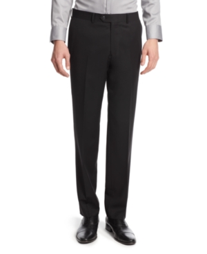 Bar Iii Pants Black Solid Slim Fit $ 150.00