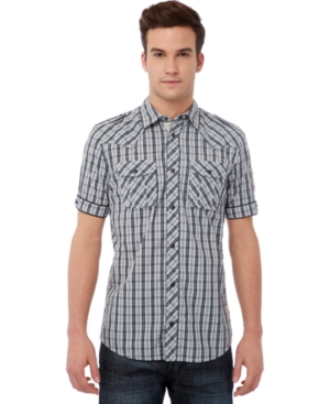 Buffalo David Bitton Shirt, Sapen Plaid Shirt