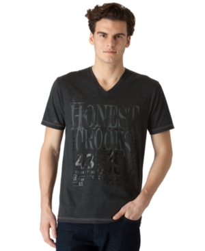 Calvin Klein Jeans Shirt, Crooked Graphic Tee