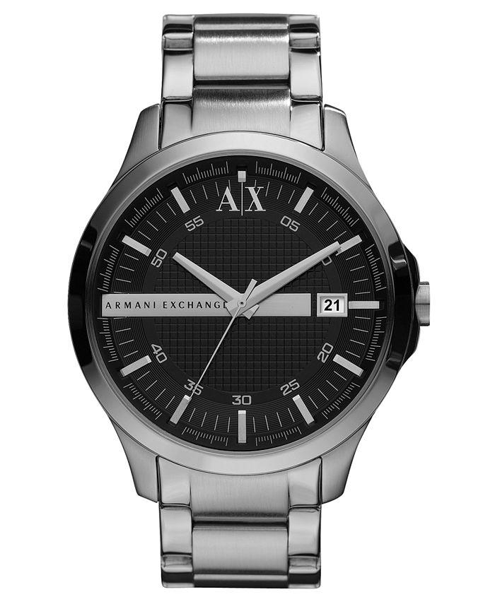A|X Armani Exchange - Watch, Men's Stainless Steel Bracelet 46mm X2103