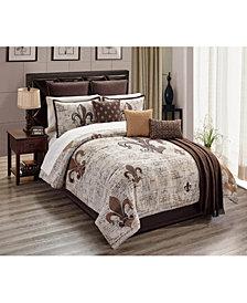 Baskin 14-Pc. King Comforter Set, Created for Macy's