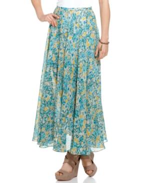 GUESS? Skirt, Long Ethel Skirt Maxi