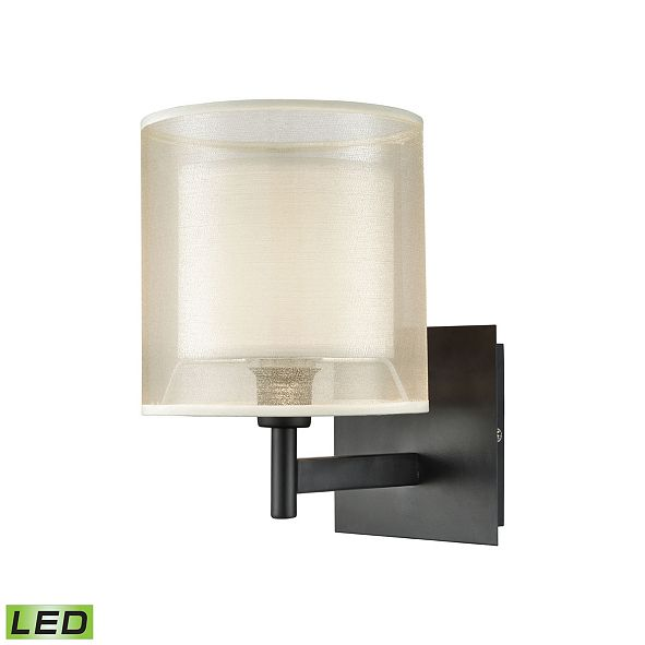 ELK Lighting Ashland 1 Vanity Matte Black
