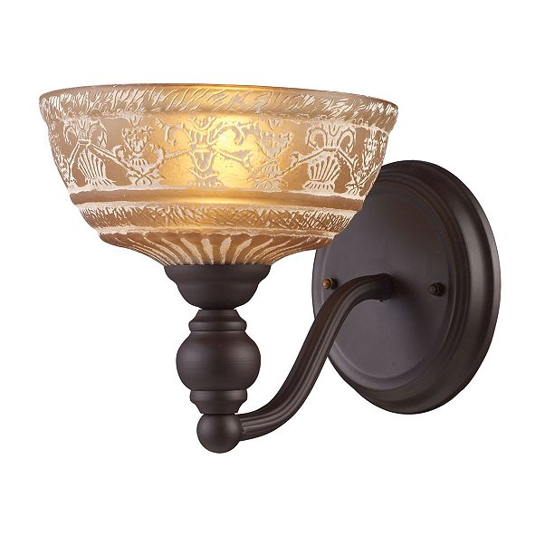 ELK Lighting Norwich 1-Light Sconce in Oiled Bronze