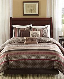 Madison Park Princeton 7-Pc. King Comforter Set