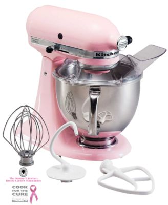 KitchenAid KSM150PSPK Artisan Cook for the Cure 5 Qt. Stand Mixer