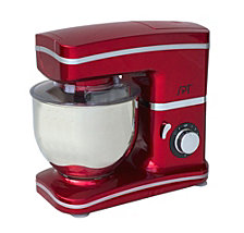 SPT 8-Speed Stand Mixer Red