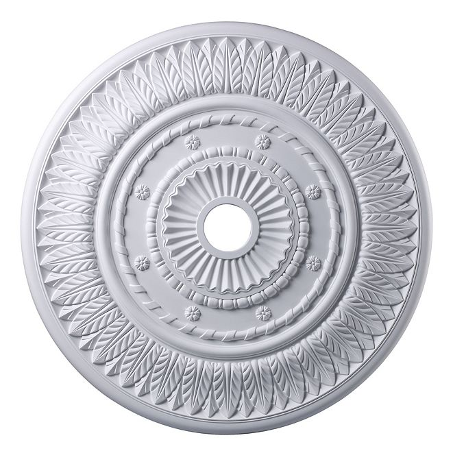 """ELK Lighting Corinna Medallion 33"""" In White Finish"""