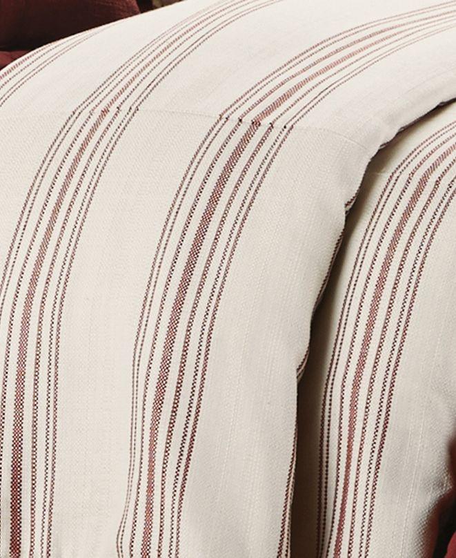 HiEnd Accents Prescott Queen Stripe Duvet