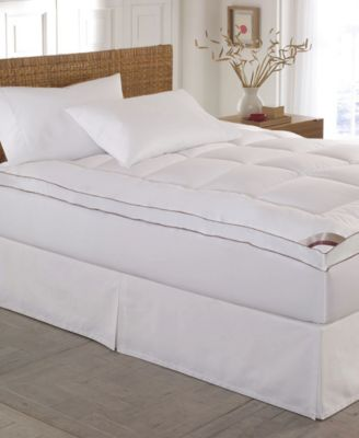 Home Gallery 100% Cotton-Top 2 Inch Gusseted Full Mattress Pad