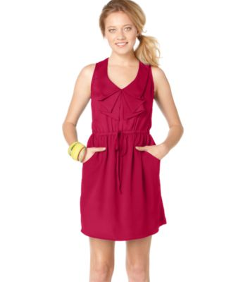 BeBop Juniors Dress Sleeveless Ruffle