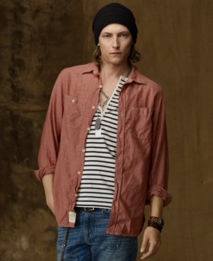 Denim & Supply Ralph Lauren Shirt, Chambray