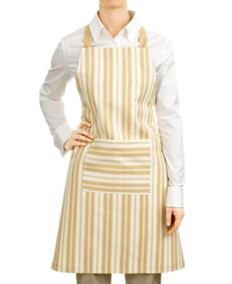 Martha Stewart Collection Apron, Stripes Print