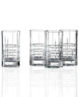 Lauren Ralph Lauren Barware, Set of 4 Cocktail Party Shot Glasses