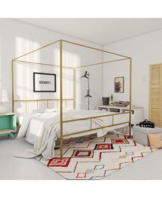 Marion Canopy Queen Bed